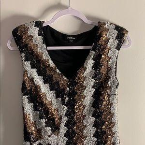 Gorgeous bebe Sequinned Dress